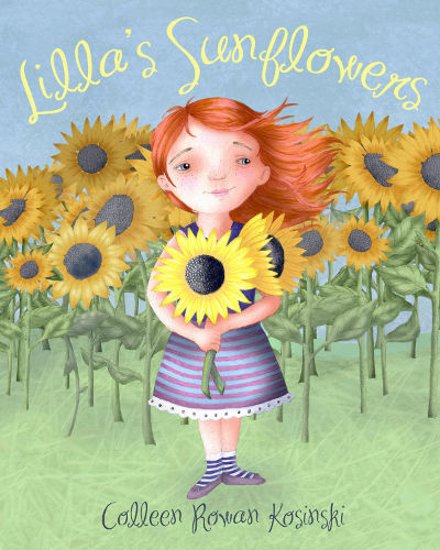 Lilla's Sunflowers Book Launch