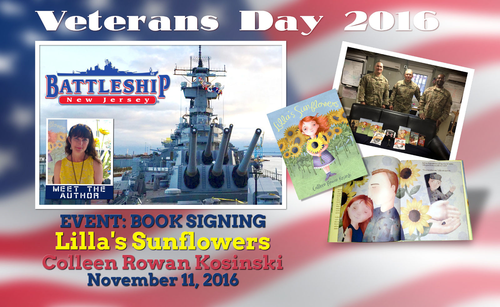 Veterans Day Battleship New Jersey